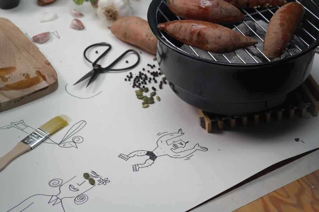 Zoete-aardappel-grillen-BBQ
