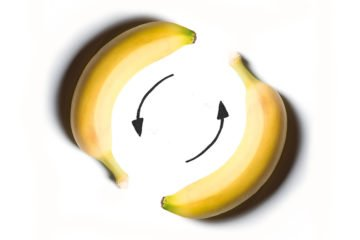banaan-recycle-illustratie