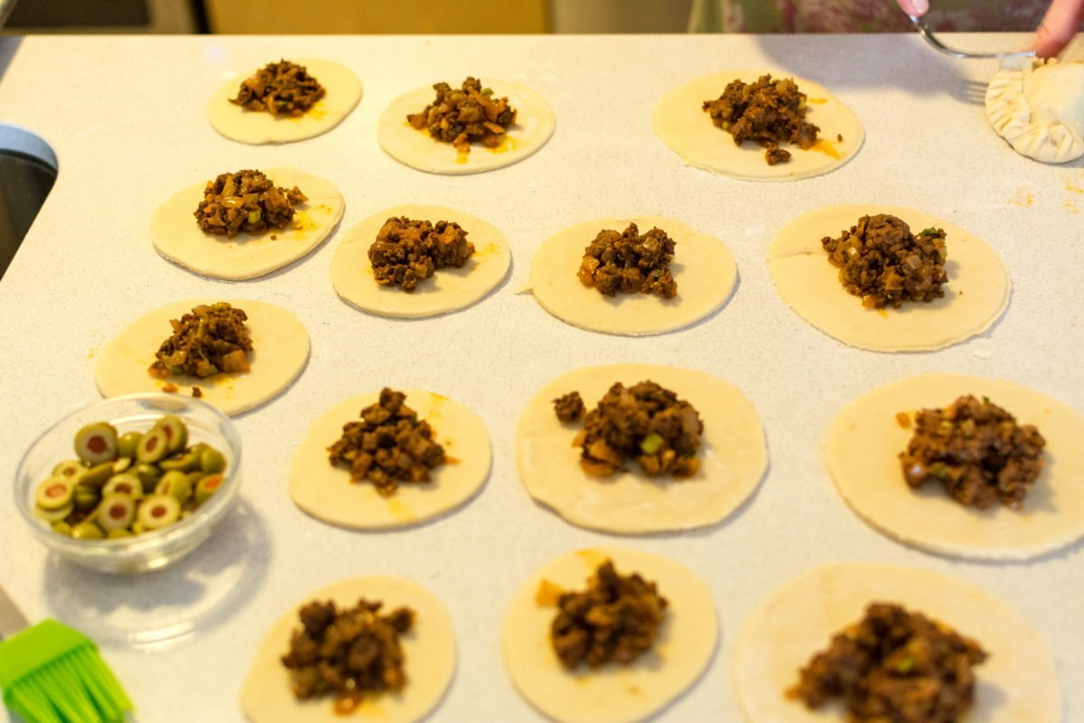 Empanadas Met Guasacaca Saus A La Jennifer