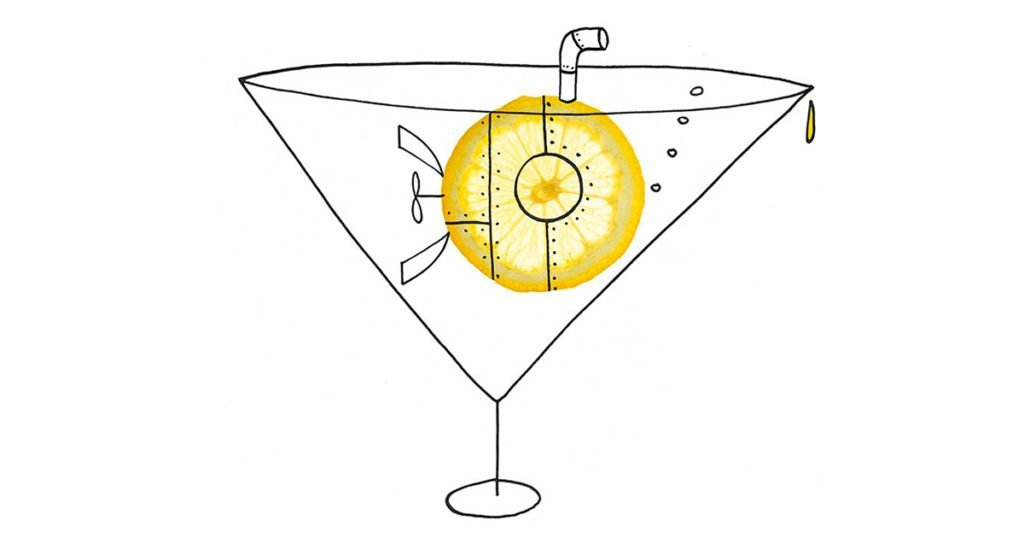 pimp-drink-citroen-onderzeeer-illustratie