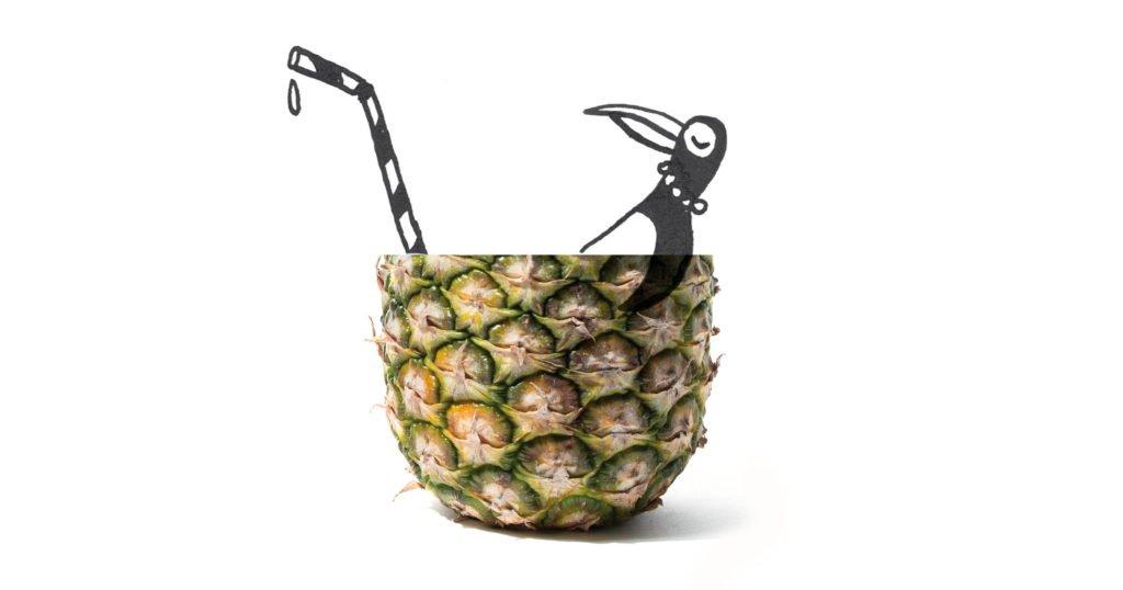vakantie-koelkast-ananas-illustratie-